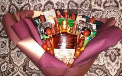 Подарочные букеты оказываем услуги
