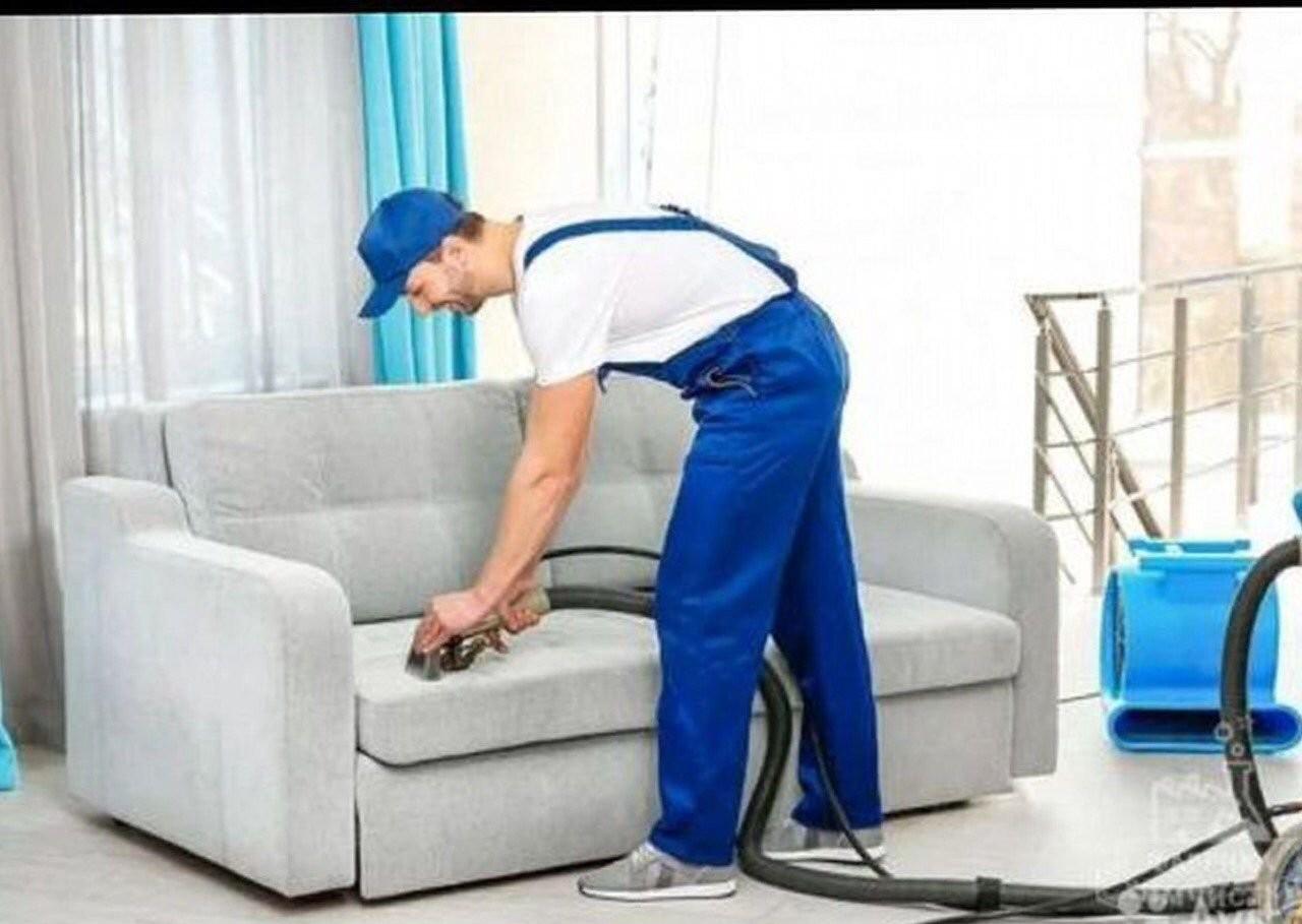 Химчистка мягкой мебели и ковров оказываем услуги