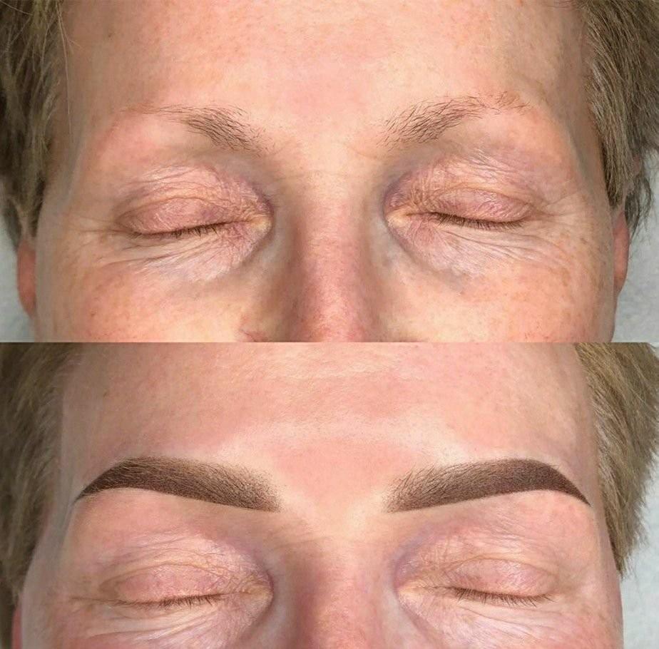 Перманентный макияж бровей оказываем услуги