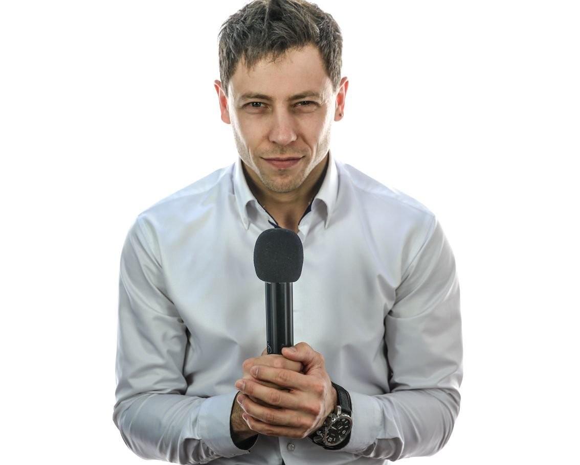 Ведущий Александр Смайл оказываем услуги